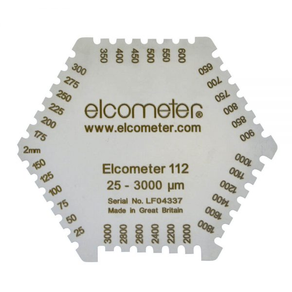 elcometer 112 untuk mengukur ketebalan cat saat basah