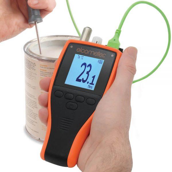 elcometer 319 mengukur suhu cat