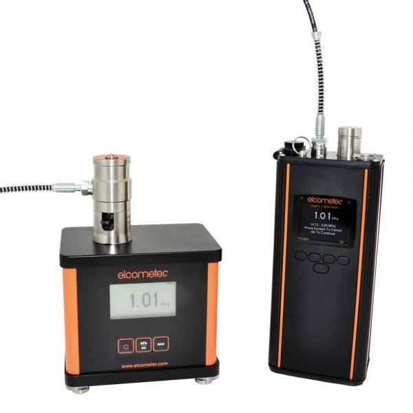 Elcometer 510 standarisasi dengan AVU
