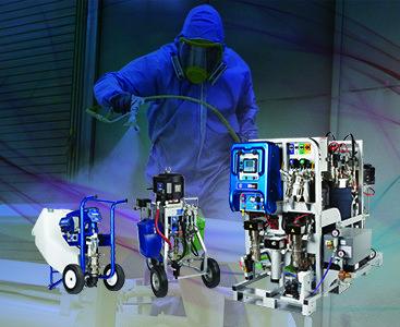 Protective Coating Spray Equipment