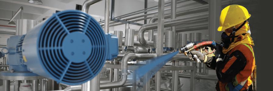 Polyurea Coating Dengan Reactor E10 hp & EXP 2