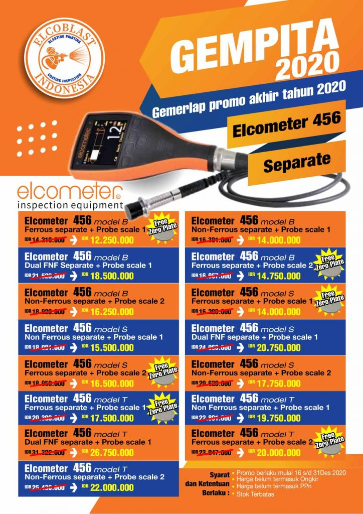 promo elcometer DFT  456 Separate